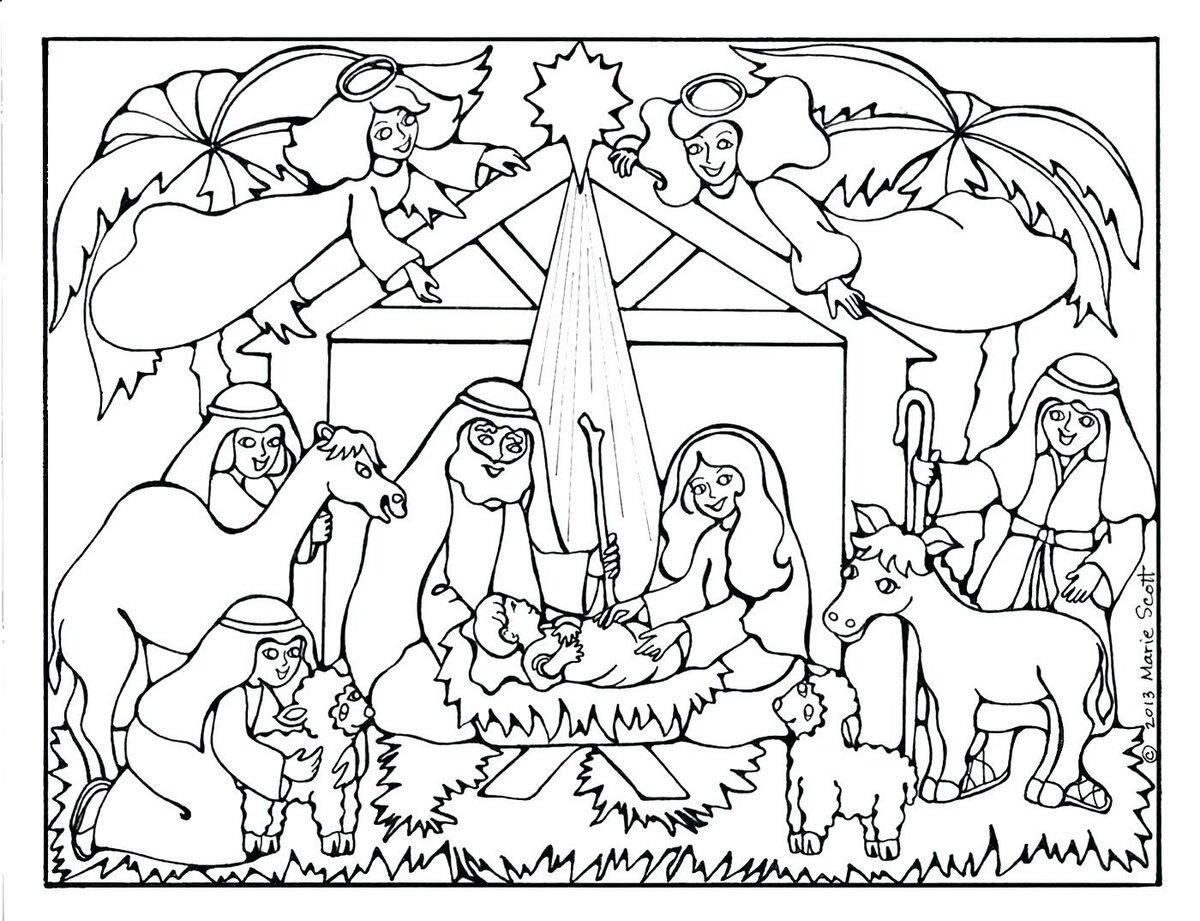 рождественский вертеп картинки для печати карелия карпаты кель-баши