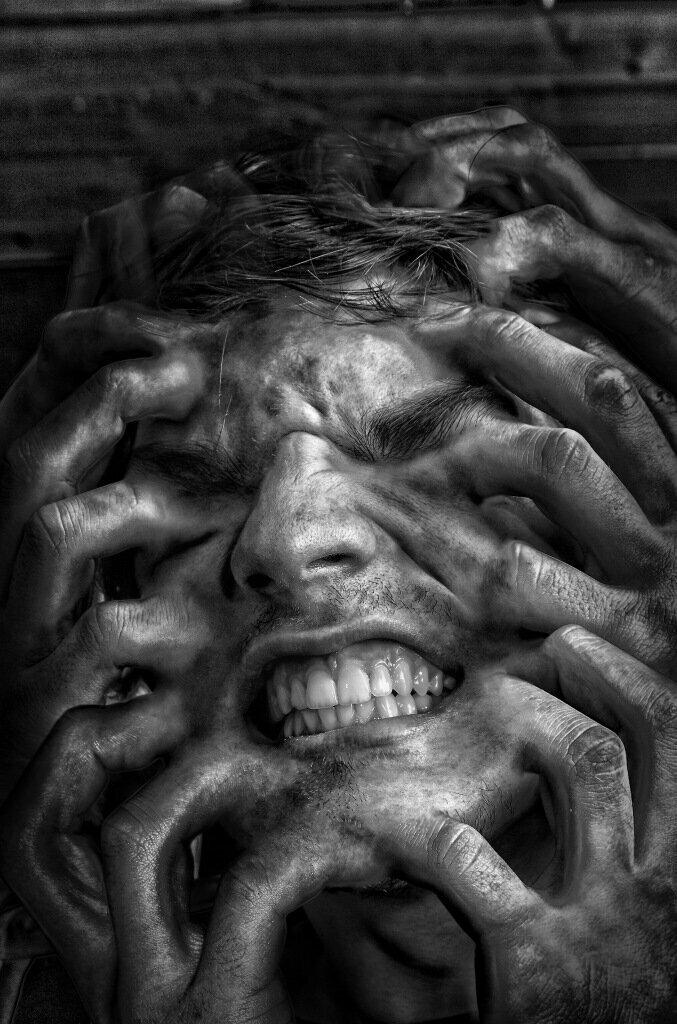 Ужасные психические картинки