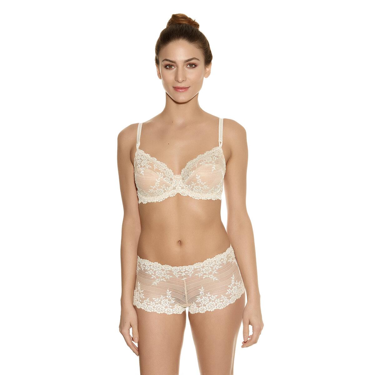 Wacoal silver embrace lace bra bikini