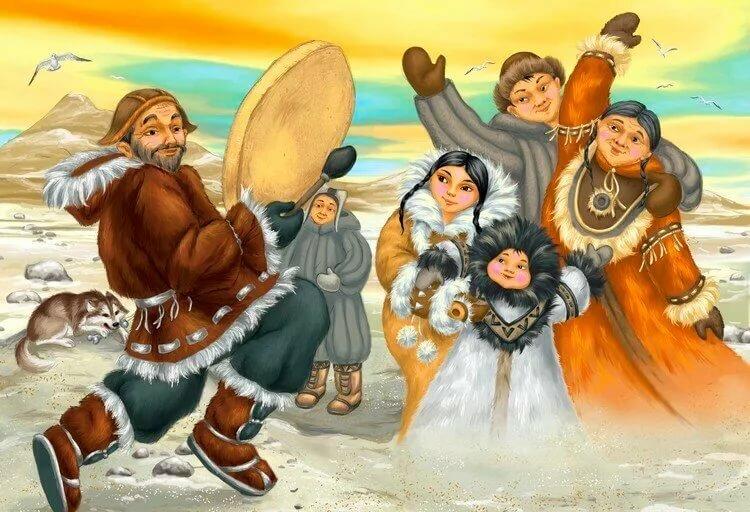 Картинки по сказкам народов севера