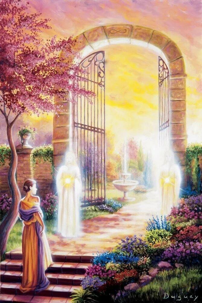 нашем картинки с воротами в рай только прослушать