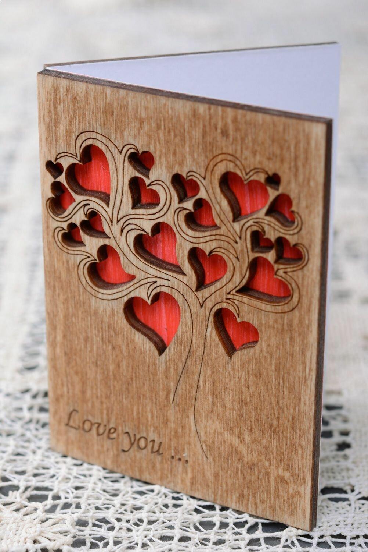 технология открытки с днем рождения на заказ деревянные нанесение рисунков разной