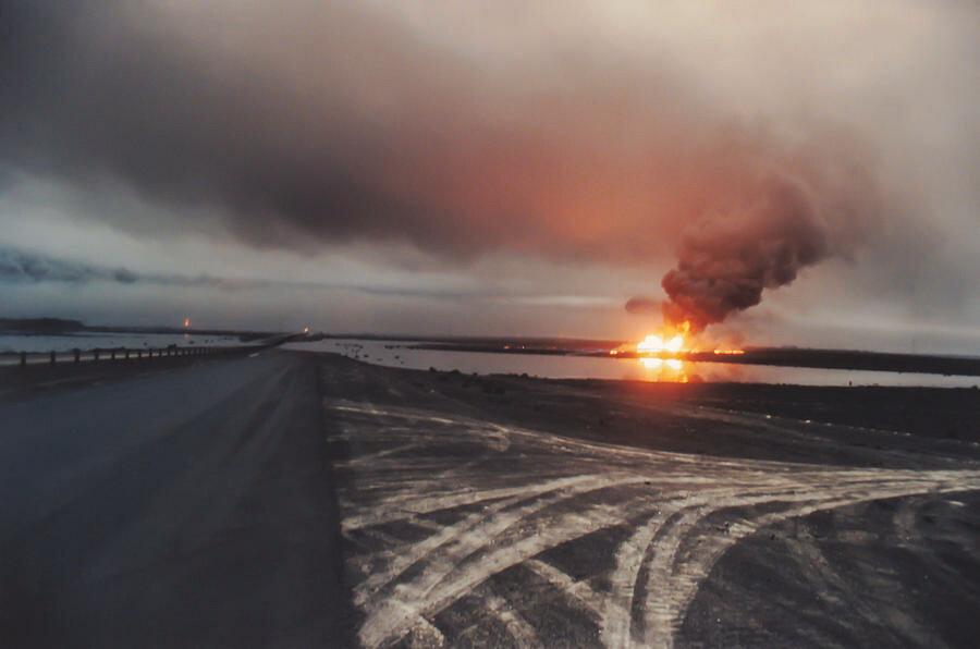 19 января 1991 года входе операции «Буря в пустыне» в Персидский залив вылито 816 тысяч тонн нефти