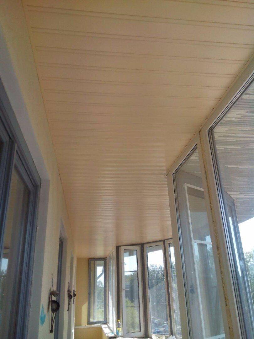 Реечный потолок №80