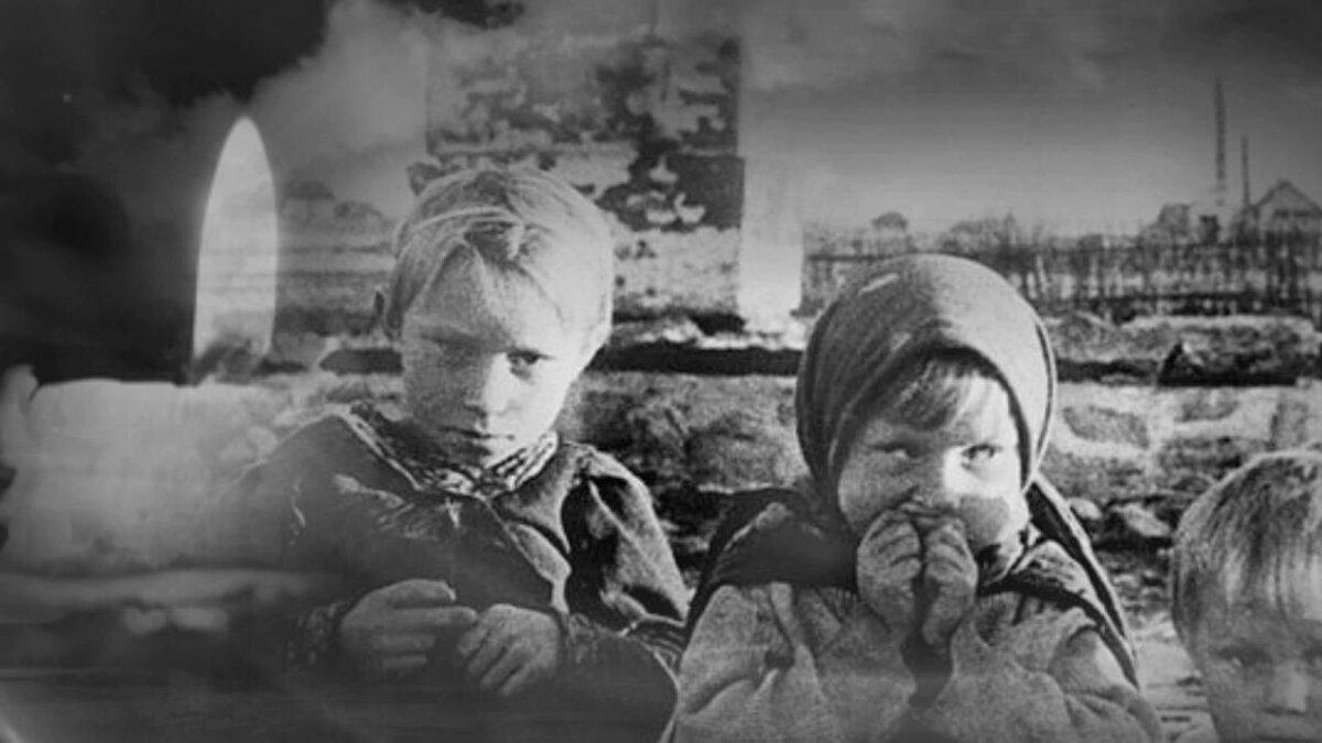 Фото войны глазами ребенка