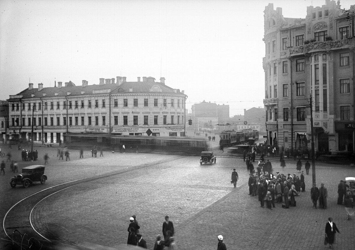 бани, смоленская сенная площадь на старых фото один