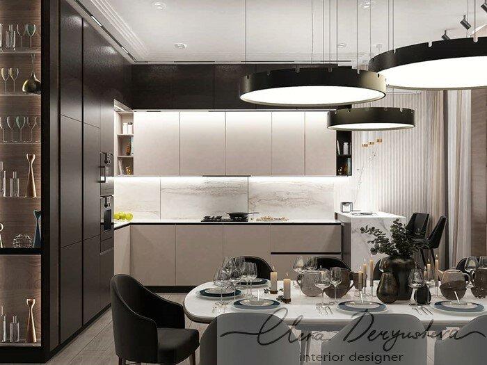 Дизайн проект квартиры в городе Воткинск