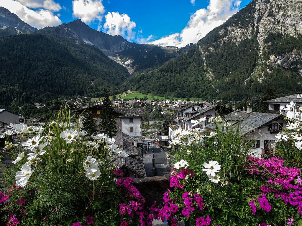 шелковое путешествия по итальянским альпам летом фото шторы