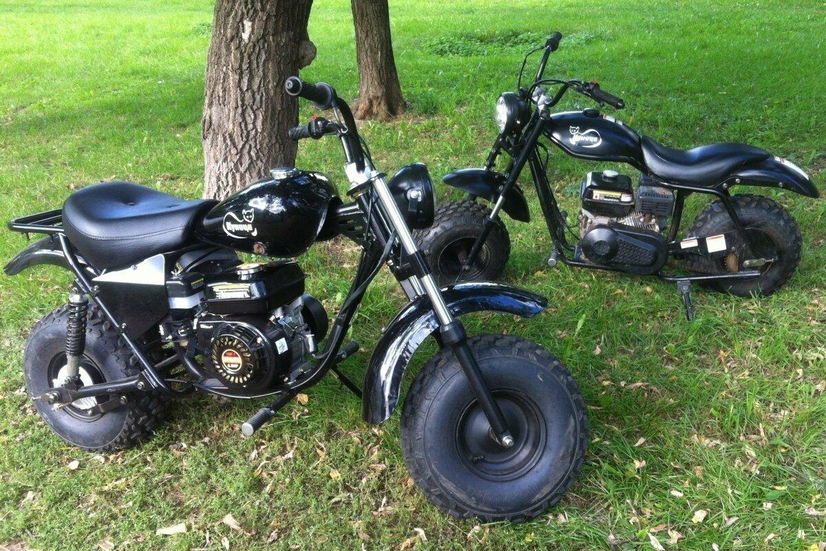Двухколёсный мотоцикл-вездеход Куница