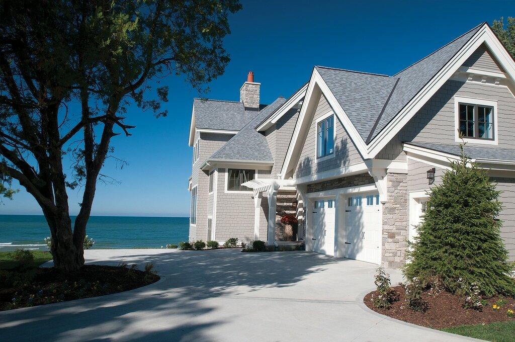 Красивые картинки домов у моря