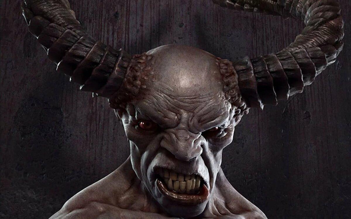 Самые страшные картинки демонов
