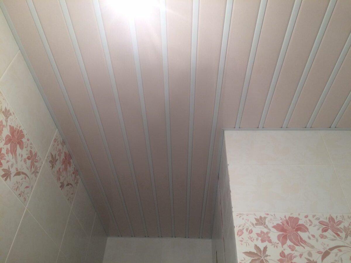 Реечный потолок №86