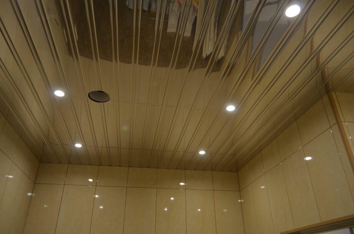 Реечный потолок №60