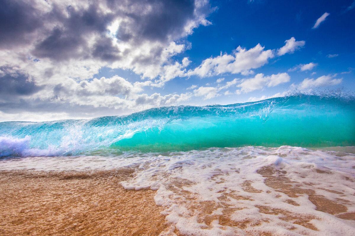 осторожность обои на экран море пляж песок голубая вода звоните забывайте