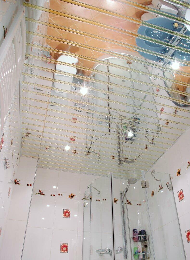 Реечный потолок №93