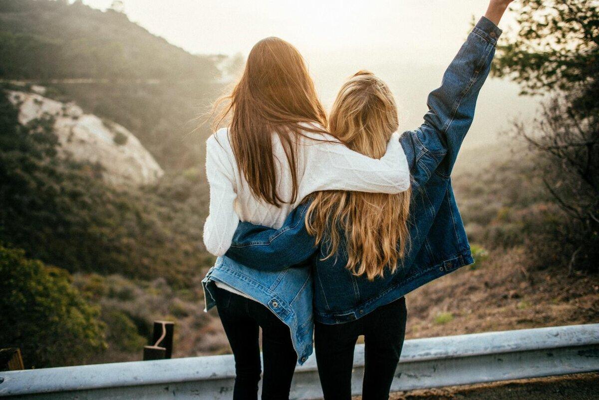 Красивые картинке о подругах