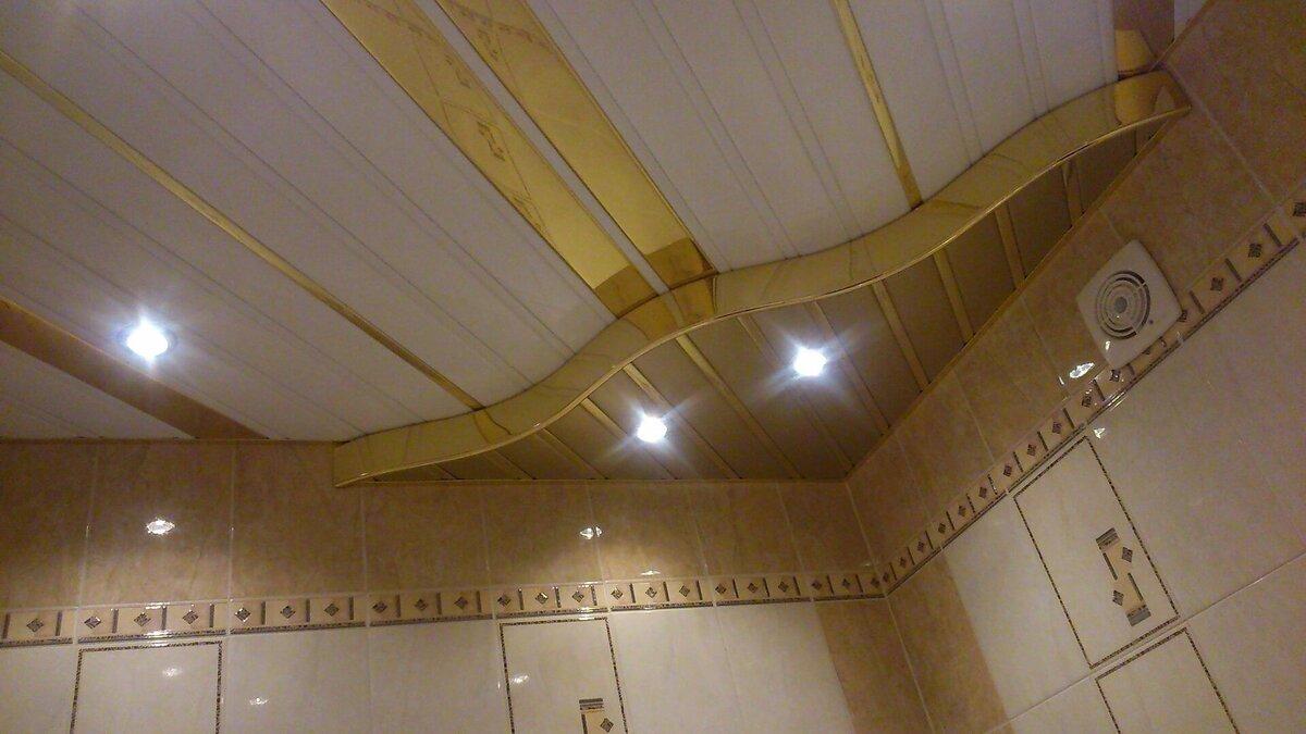Реечный потолок №107