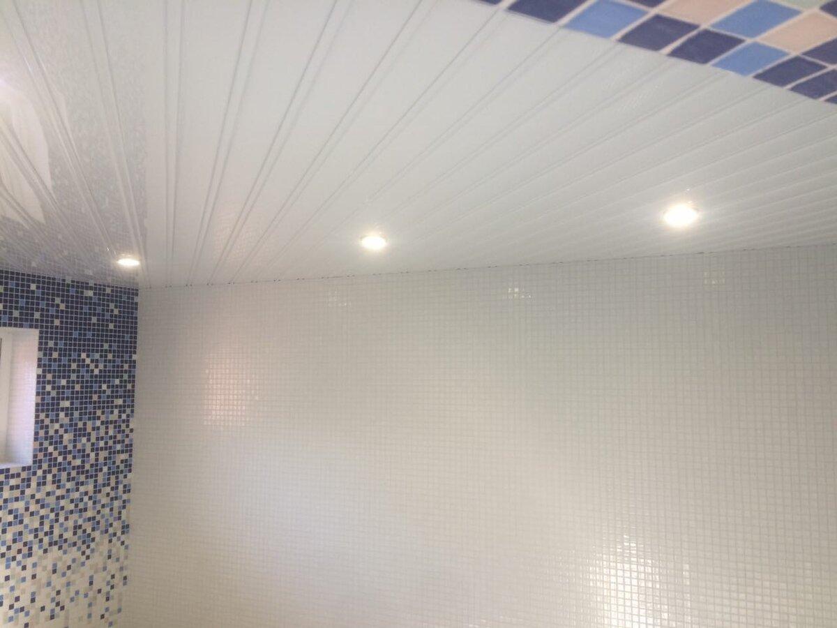 Реечный потолок №95