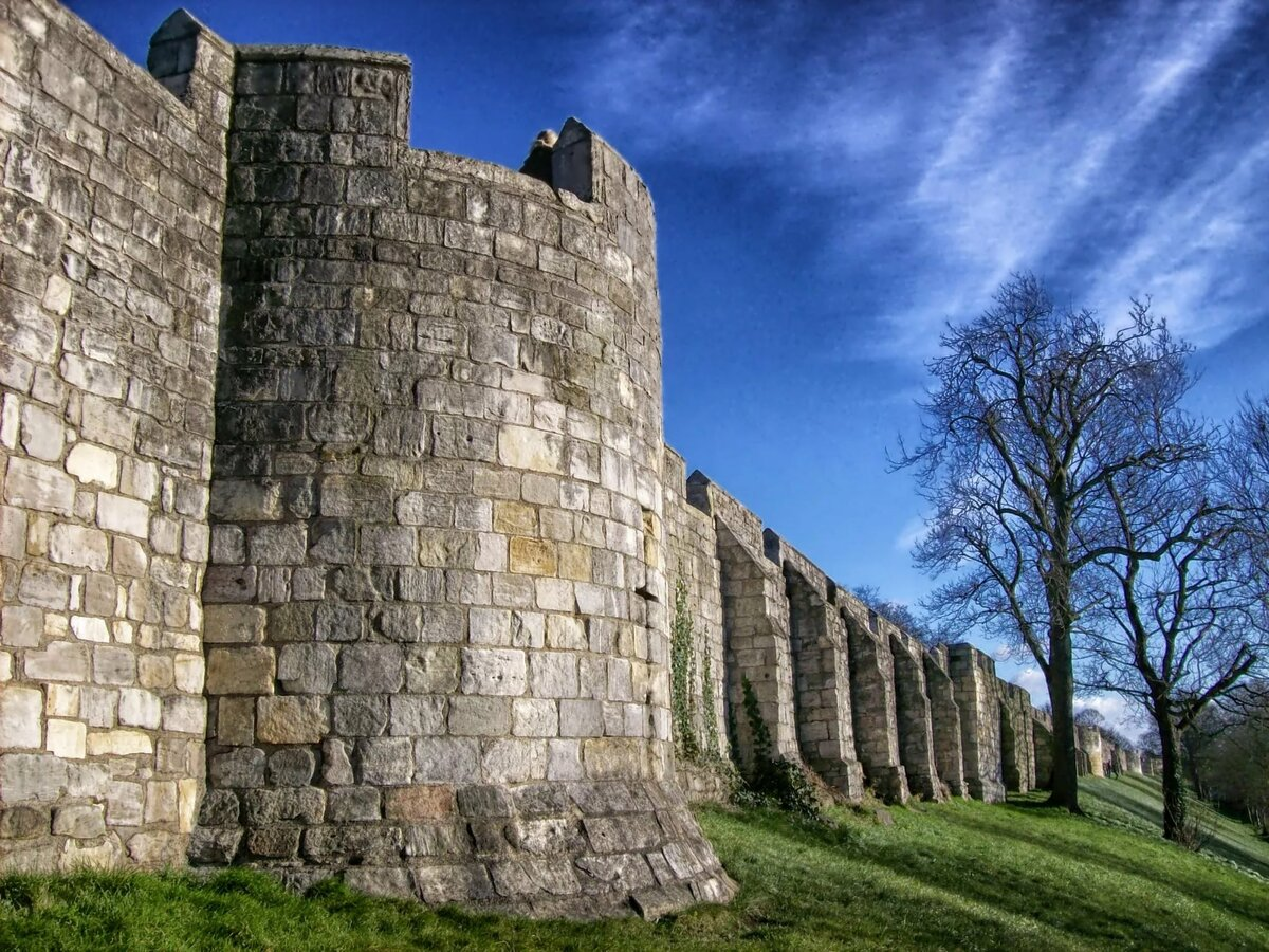 Картинки замок для стен