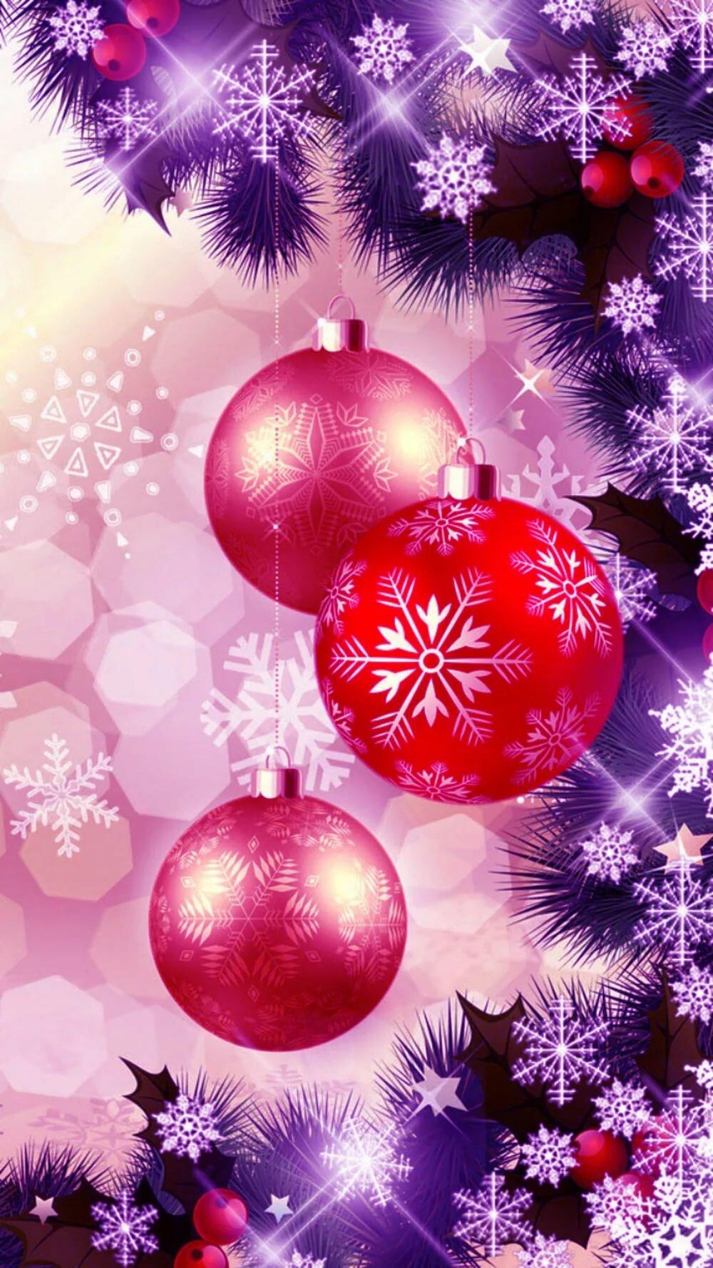 Вертикальная картинка новогодние