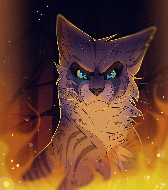 Коты воители картинки уголька