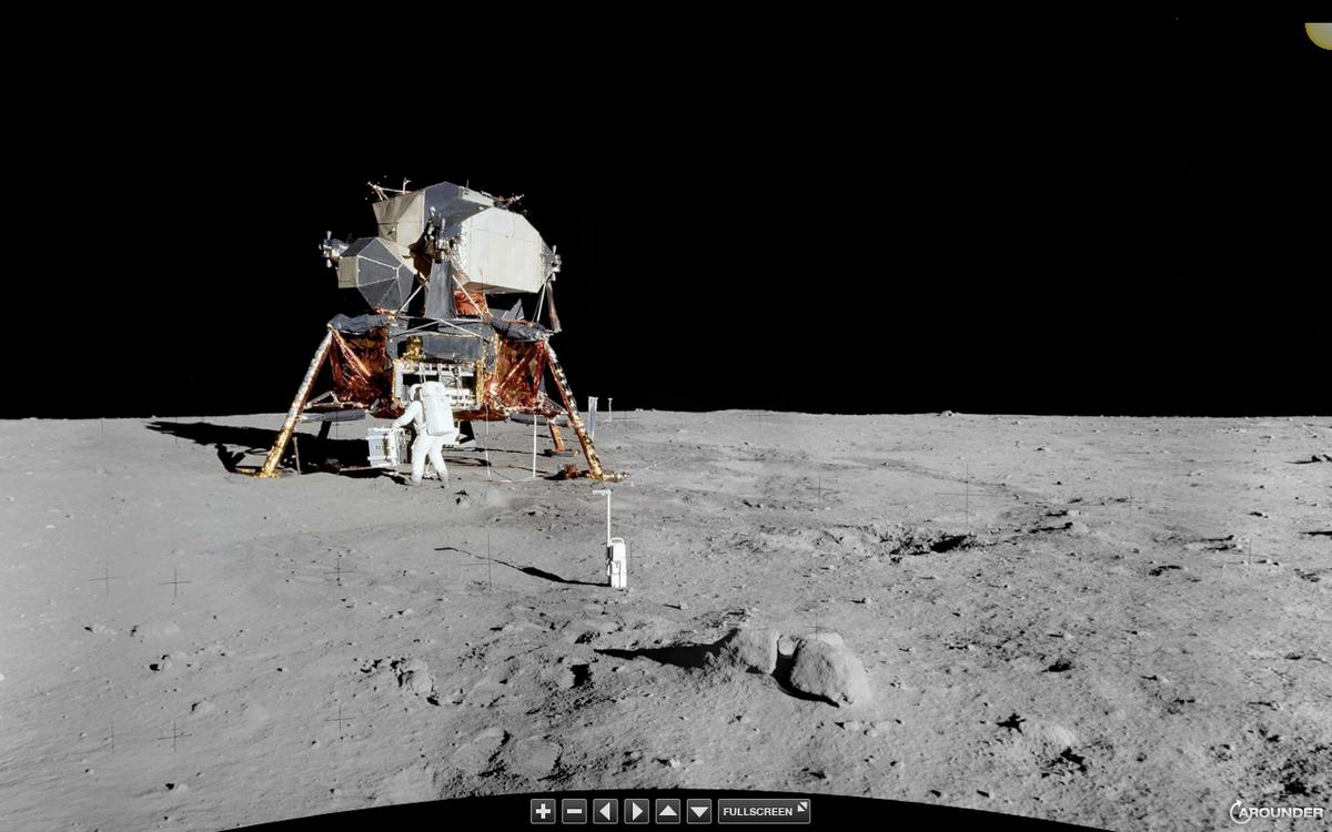 фото с луны подтверждение присутствия американцев себе