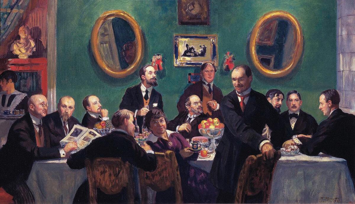 9 марта 1906 года в Санкт-Петербурге открылась прощальная выставка объединения «Мир искусства»
