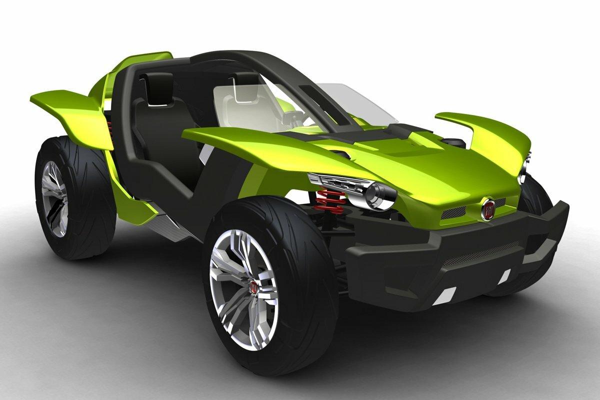 Электробагги Fiat Concept