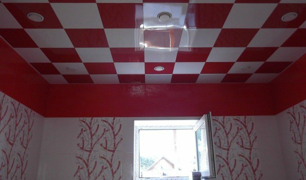 Кассетный потолок №28