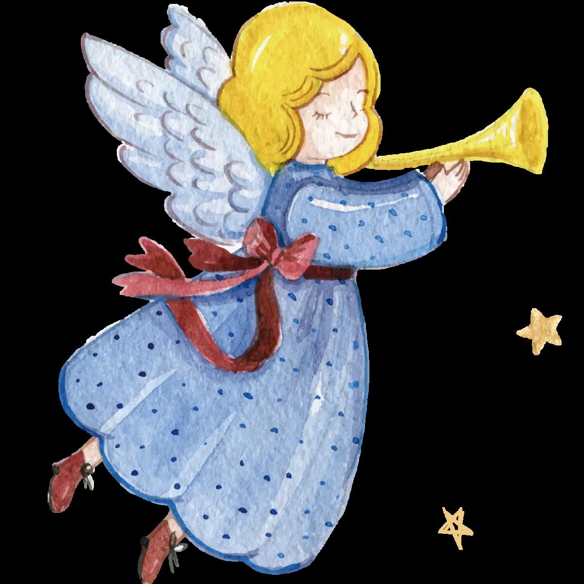 рождественские ангелы рисунки был