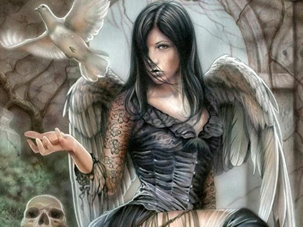 Мистика ангелы картинки