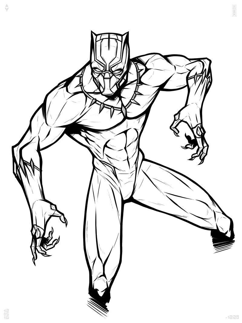 Картинки супергероев в карандаше