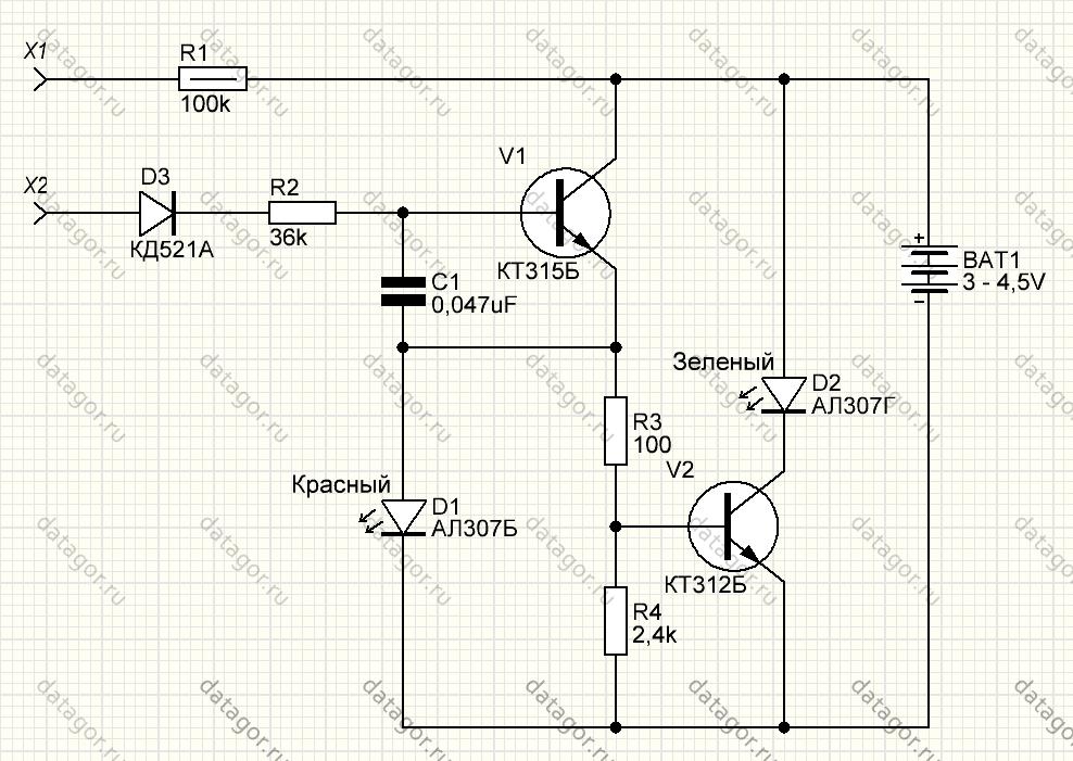 схемы пробников электромонтера картинки тут