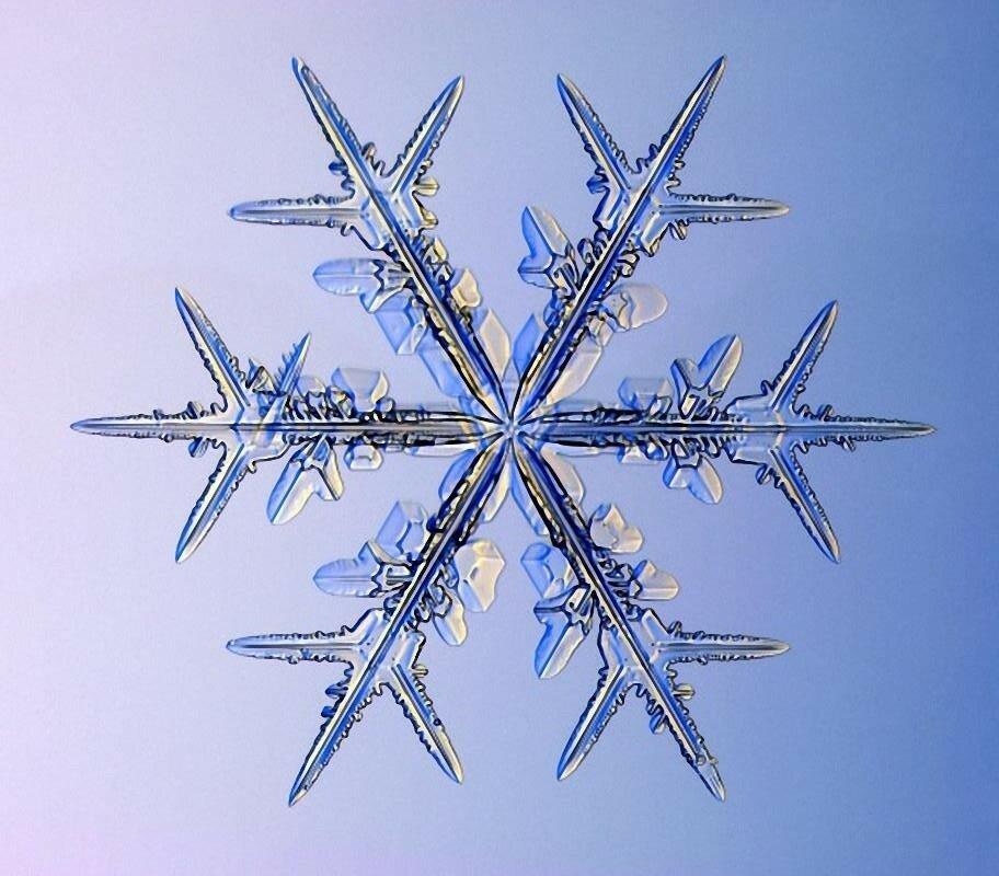 картинки форм снежинок вязки