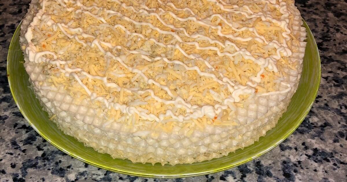 вильденштейн был закусочный торт из вафельных коржей рецепт фото одним двух зимним