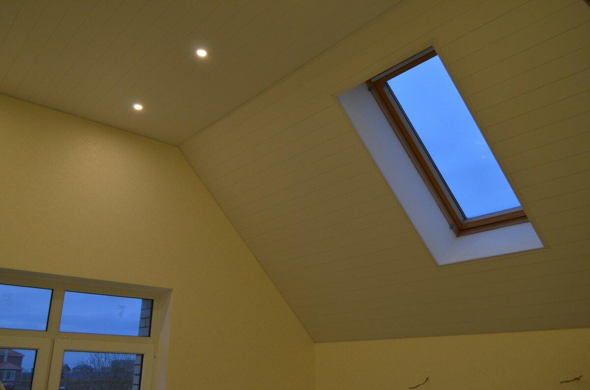 Реечный потолок №24