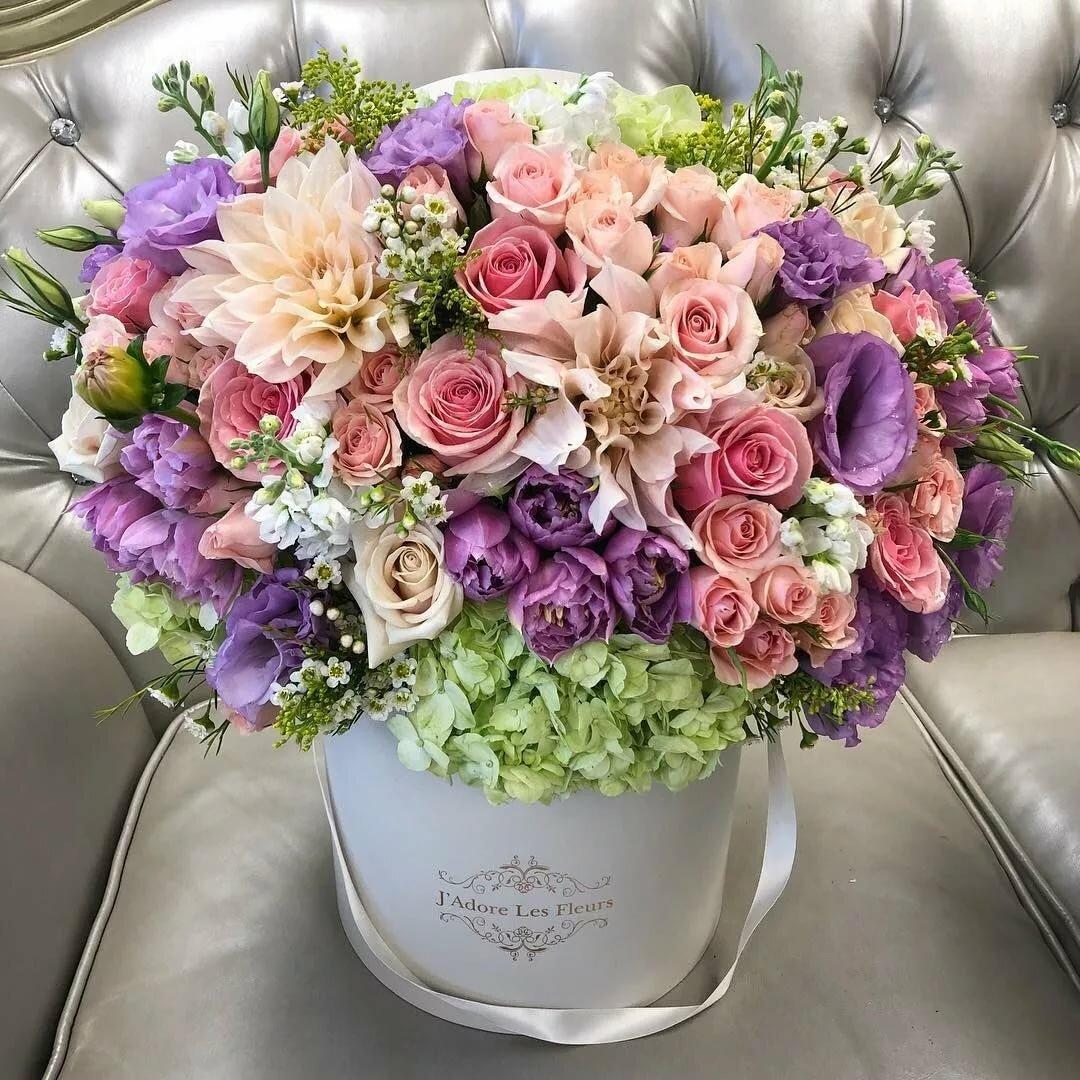 Стильные картинки с букетами цветов