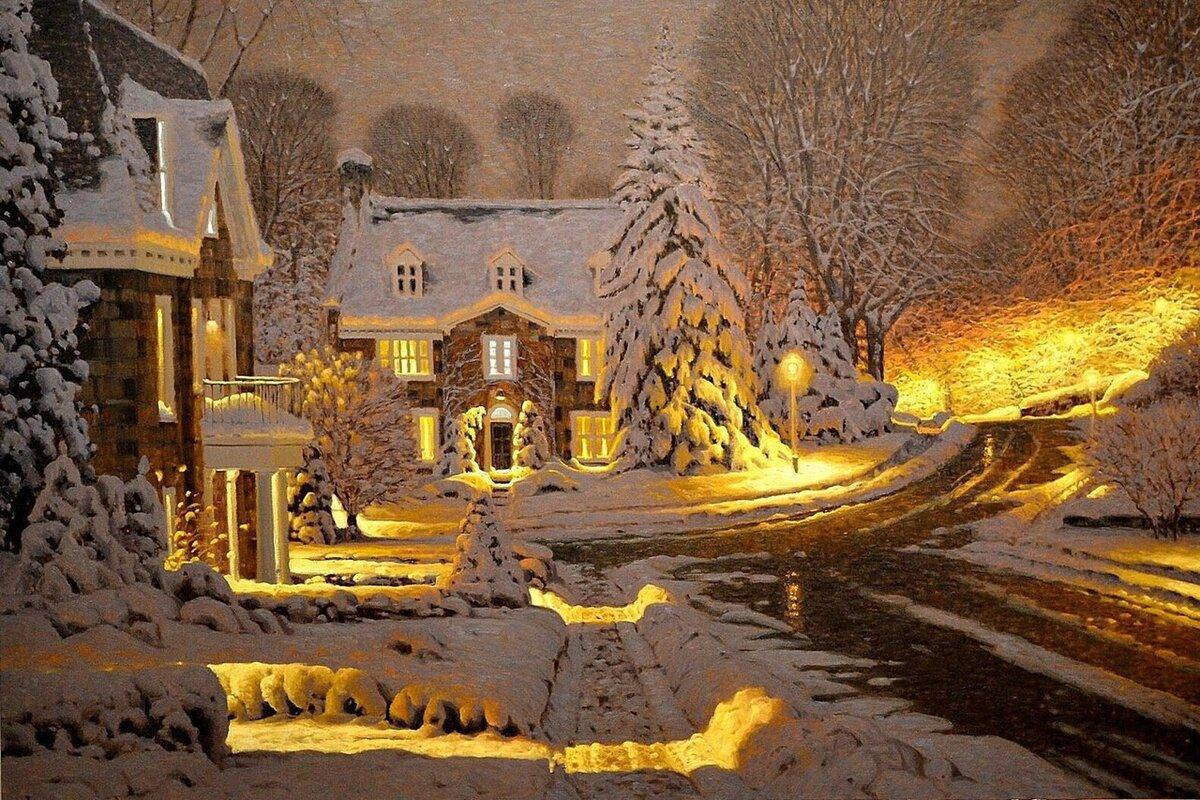 уходе красивые зимние новогодние пейзажи фото и картинки запретов, как правило
