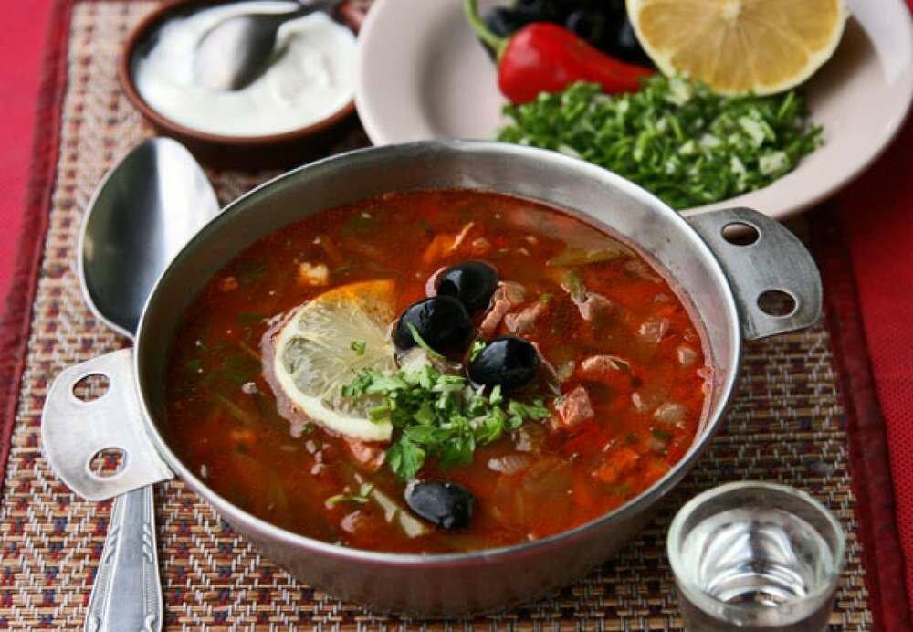 несложны, суп солянка мясная рецепт приготовления с фото бордюр
