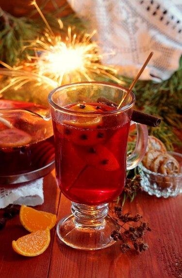 рецепт новогоднего пунша из апельсинов