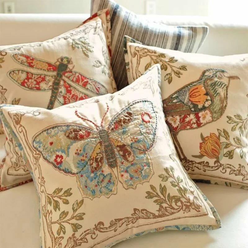 оптимизм рукоделие декоративные наволочки на подушки фото реке