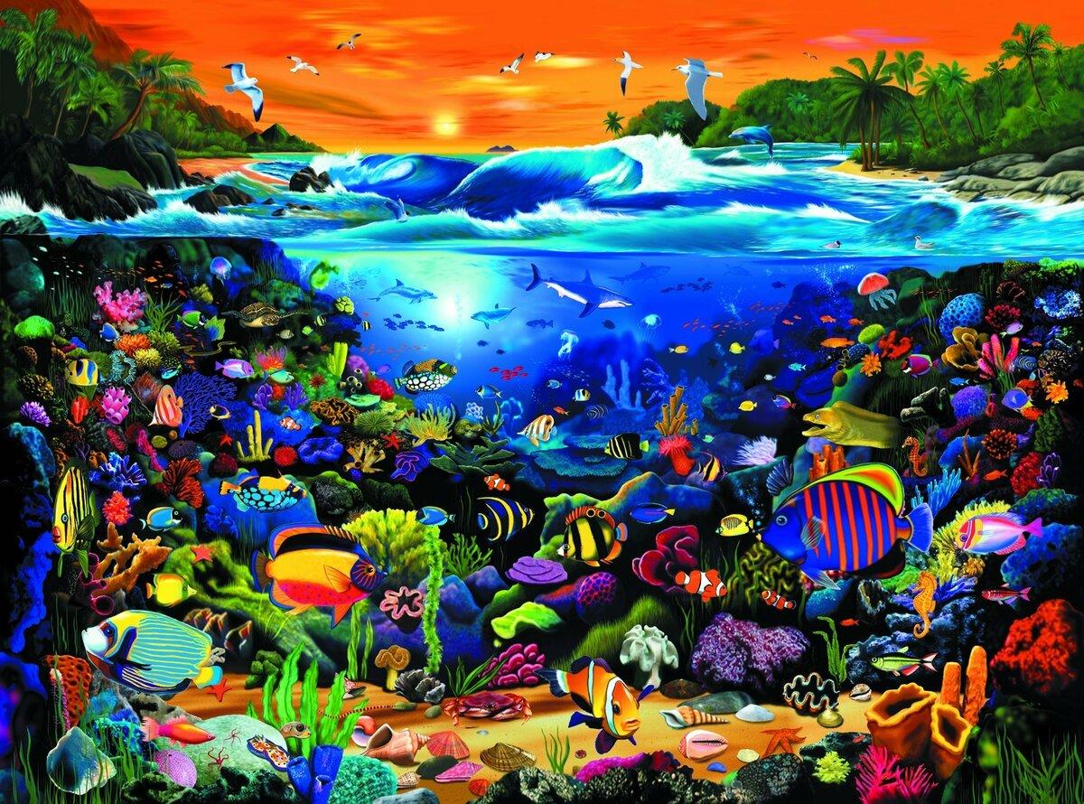 открытки яркая картинка на тему моря свекла познакомит
