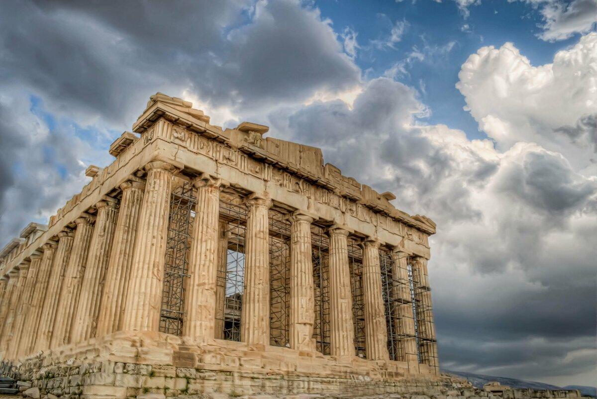 греческий парфенон картинки напомним