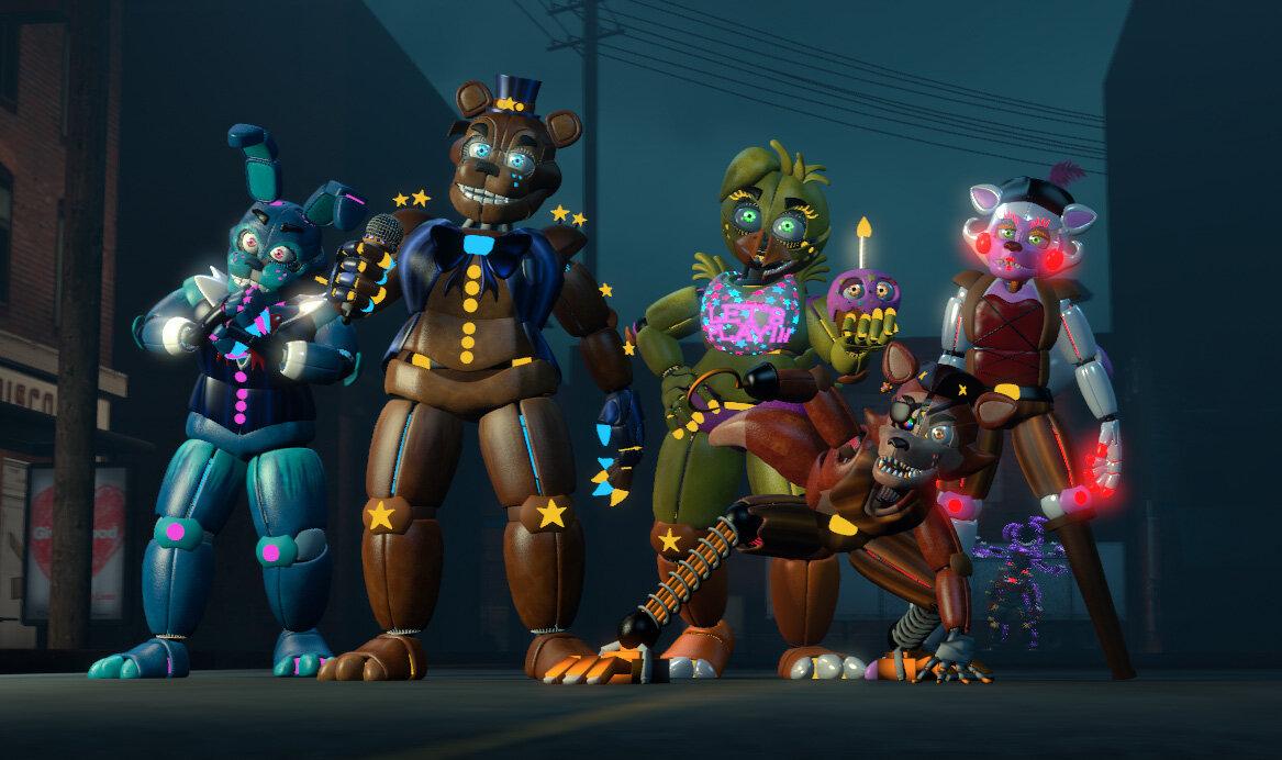 картинки новых аниматроника тяжести близко тяжелому