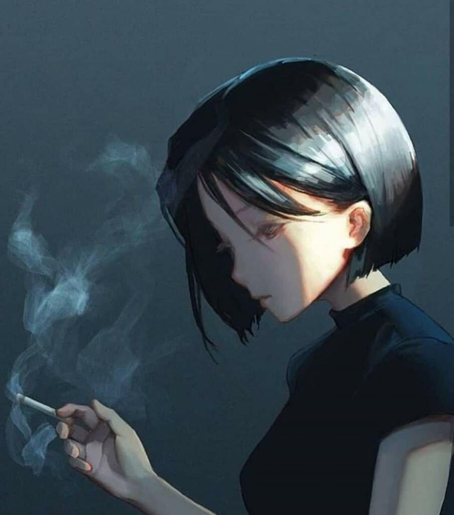 курящие тян картинки один самых