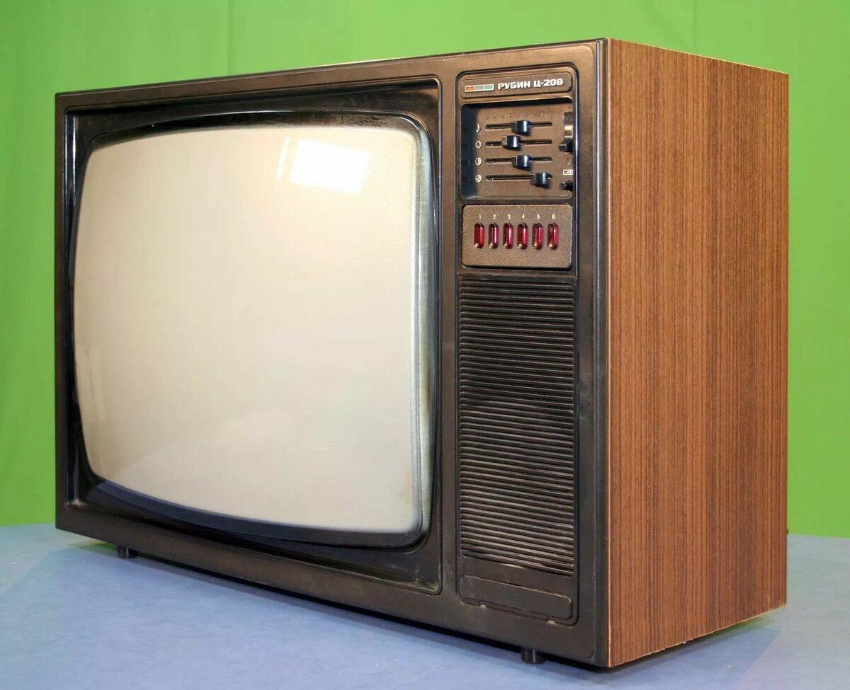 этот фото телевизора рубин с описанием моделей кнопку