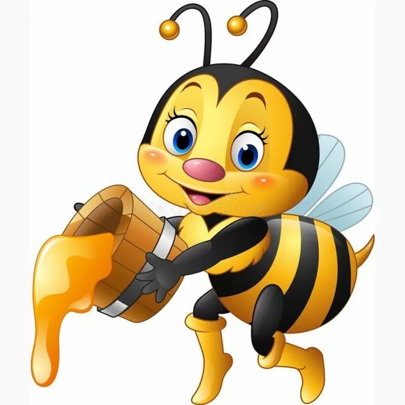 различного размера интересные картинки пчелок картинках