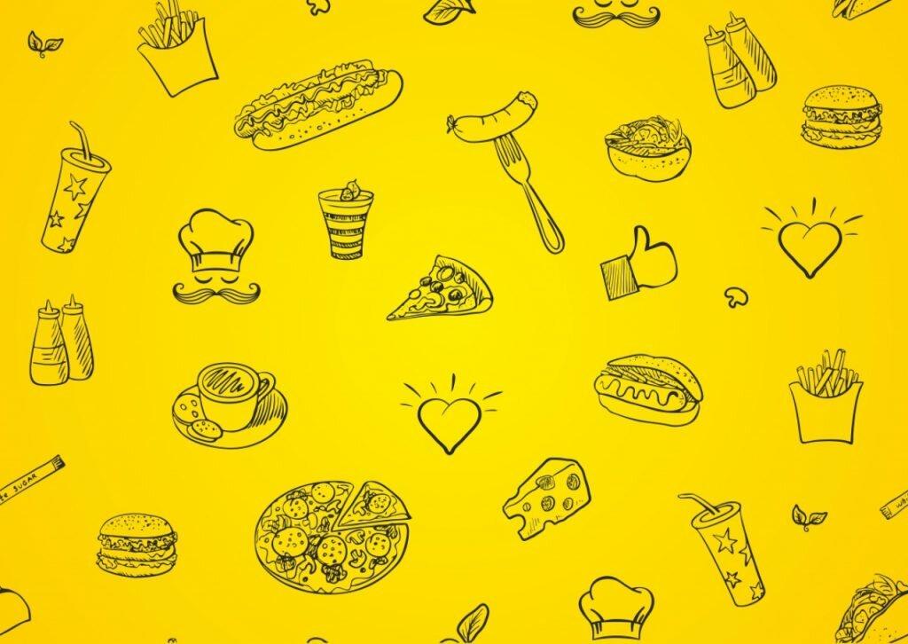 Фон с едой картинки для