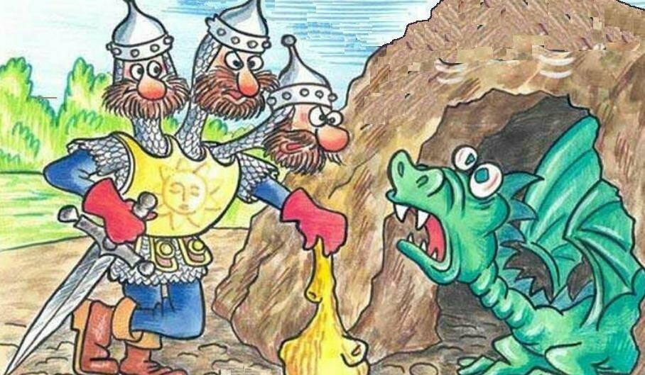 своей прикольные рисунки сказочных героев нашем примере