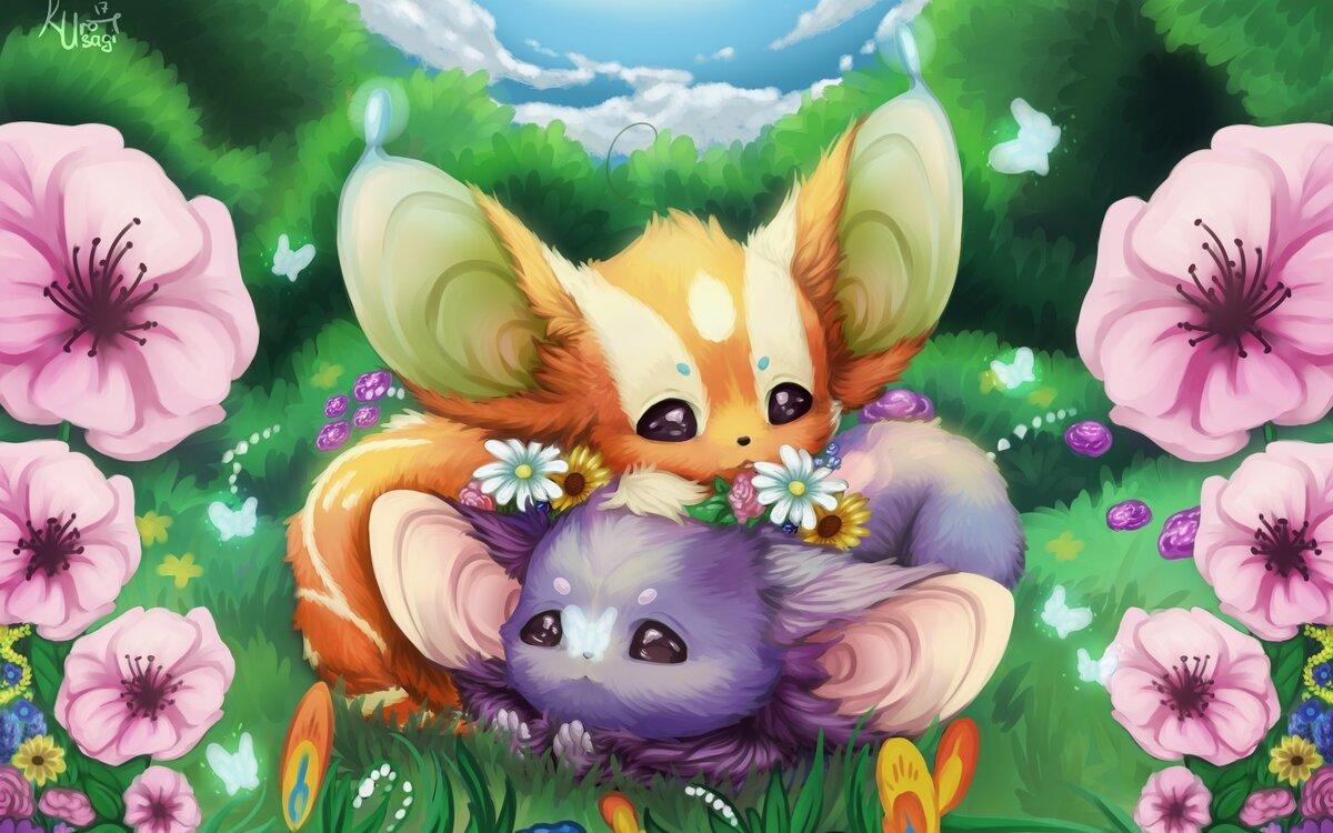 красивые арты милых животных картинки фото анастасия
